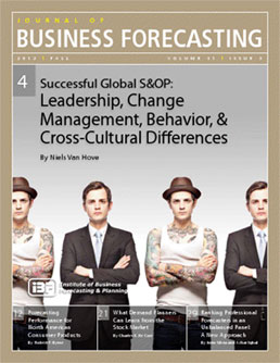 JBF- S&OP leadership culture Niels van Hove