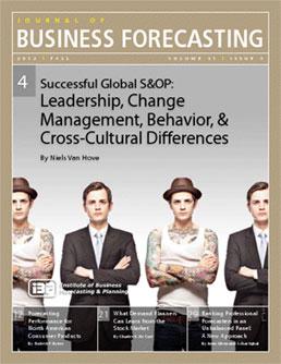 JBF- S&OP leadership culture Niels van Hove